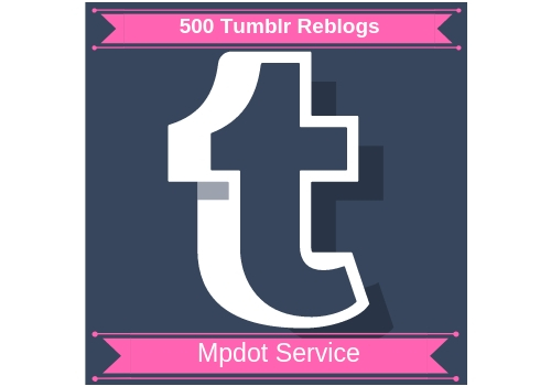 Provide You Unique 500 Tumblr Reblogs Or Likes