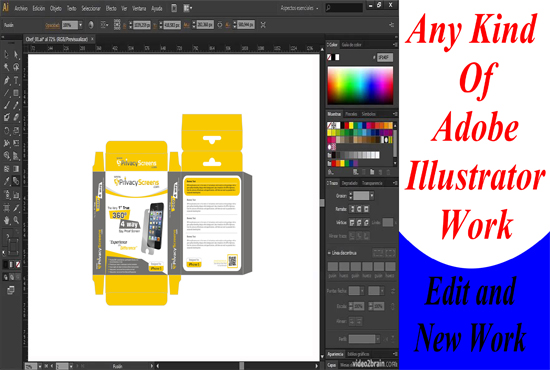 design adobe illustrator work