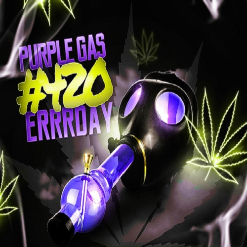 Add your song to the Purple Gas 420Errrday playlist for 1 month with 400+ fans