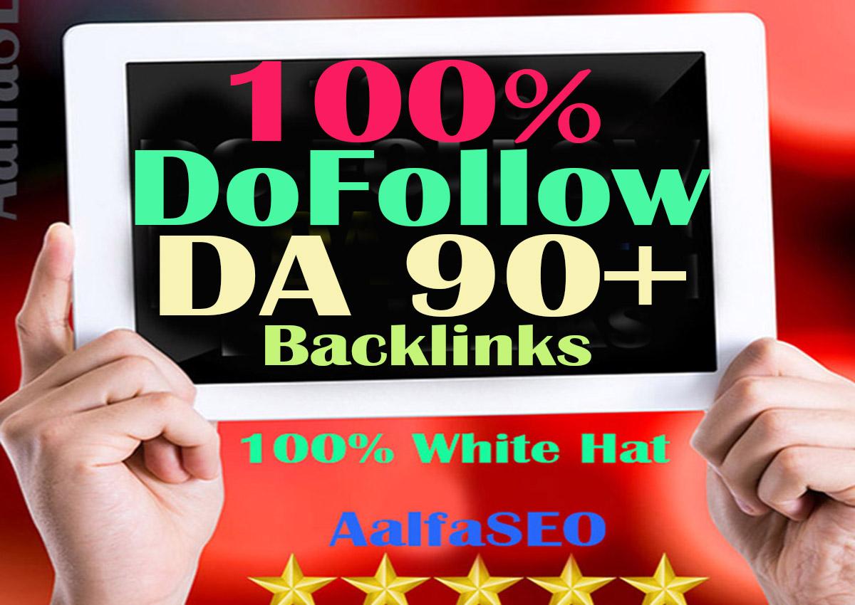 Just DoFollow DA 80+ PR9 Top Quality30 Backlinks Obli...