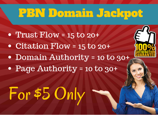 PBN Domain Jackpot 24H Delivery BEST SOURCE OF STRONG EXPIRED DOMAINS