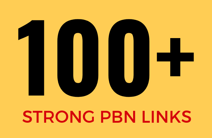 Get 100 Powerful PBN Links on Domains with DA/TF 20+ - Rank Boosting PBNs
