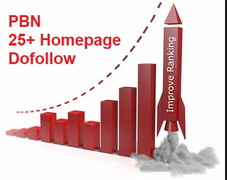 Get Dofollow 30+ PBN Hompage Backlinks using high PADA
