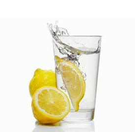 The diet with lemon juice