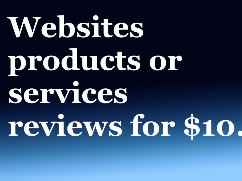 Review blog posts to promote your site on my blog.