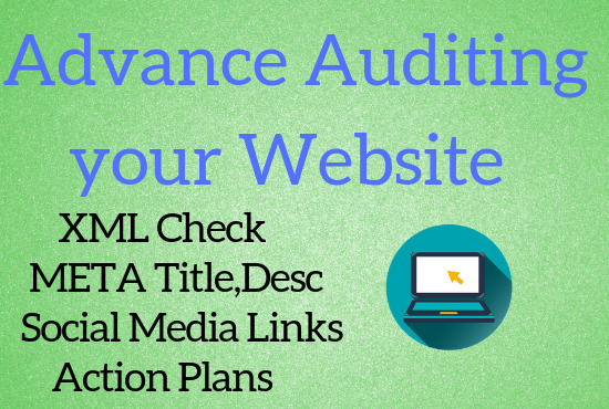 Do advance auditing your site or website
