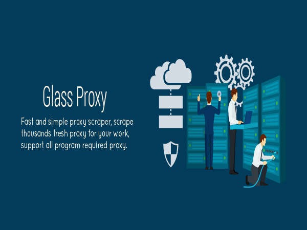 Glass Proxy - Fast and Simple Proxy Scraper