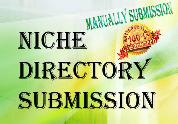 Manually do 25 niche and local directory submission from high authority directories