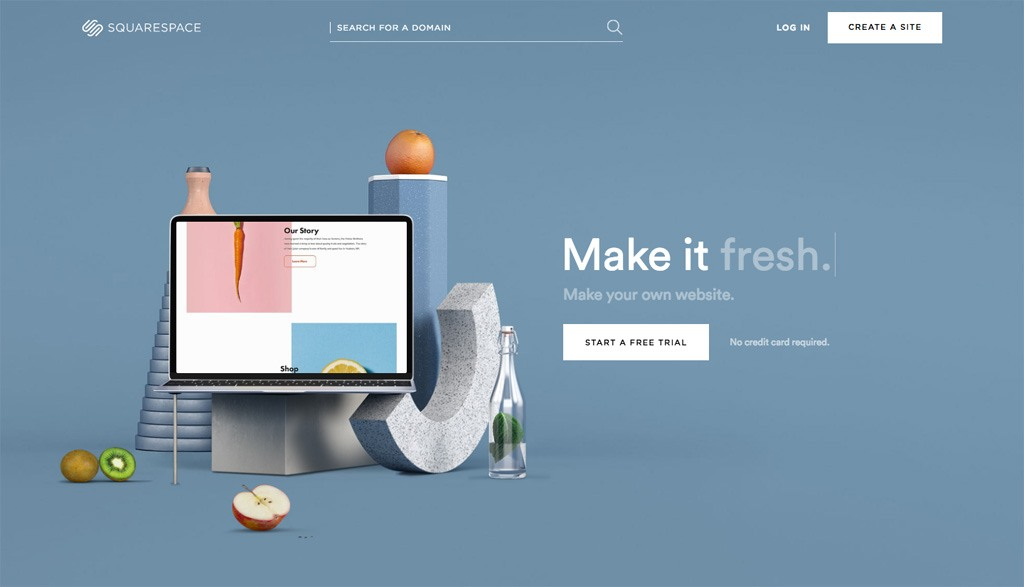 Customize or Create a Squarespace site