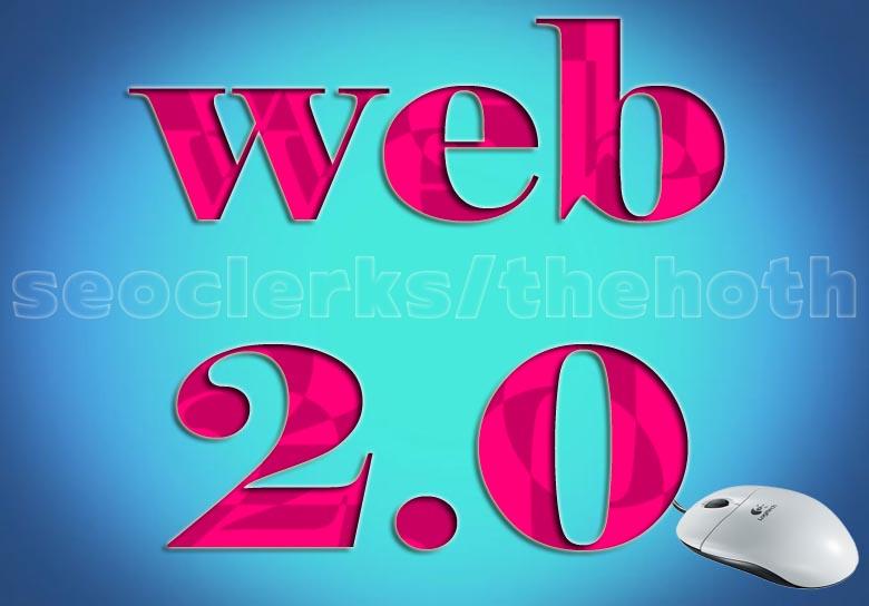 Manual 20 web 2.0 backlink rank your website on googl...