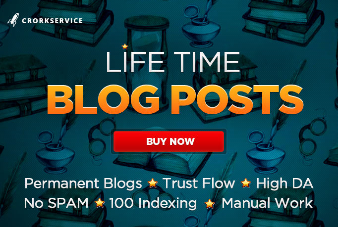 10 Life Time Blog Posts in General Niche with Domain Authority 20+