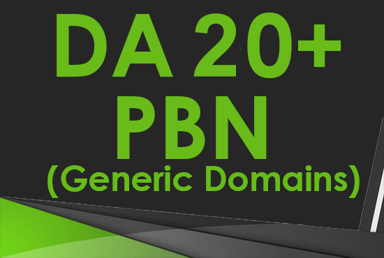 RELAUNCHED Create 6 DA 2030+ Guaranteed Homepage PBN Post Backlinks