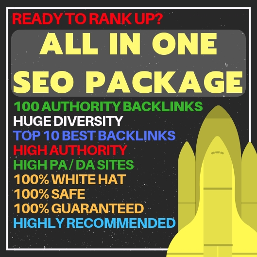 All-in-one SEO Package - Best SEO Package Link Building Service - Improve your SERP Rankings