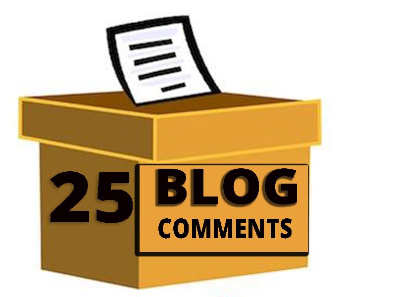 Provide 25 HQ Auto Approve Niche Relevant blog comments