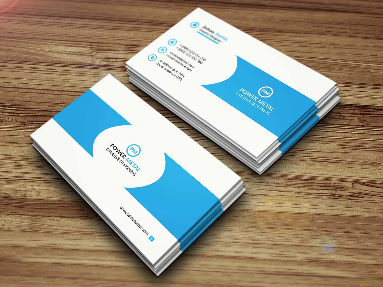 Professional Eye-catching Business Card Degine
