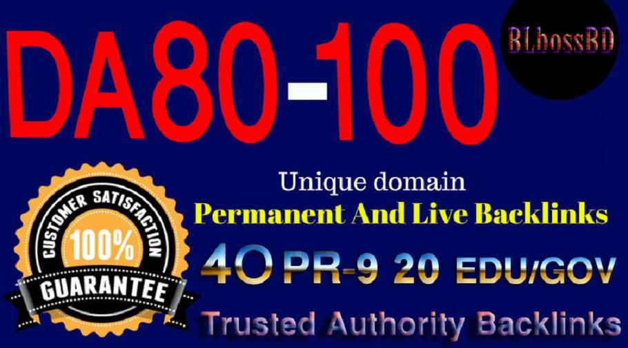 Build 80+DA SERP SEO Profile Backlinks Create For Ran...