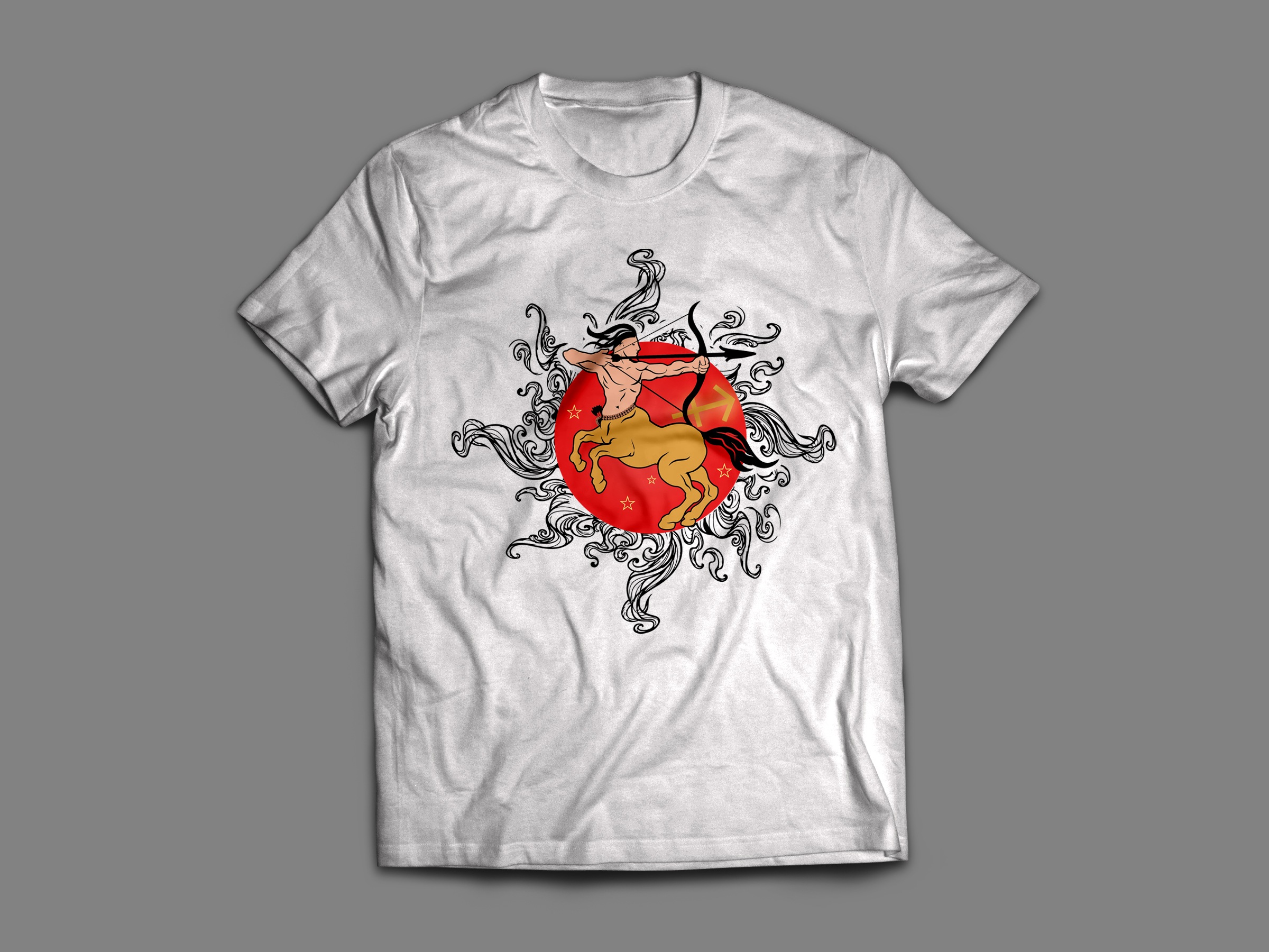 Unique T-shirt Design with in 24hrs with Unlimited Re...