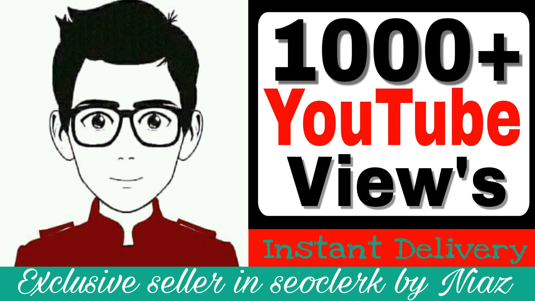 Fantastic Deals 1000+ High Quality Views And Supper Fast Delivery