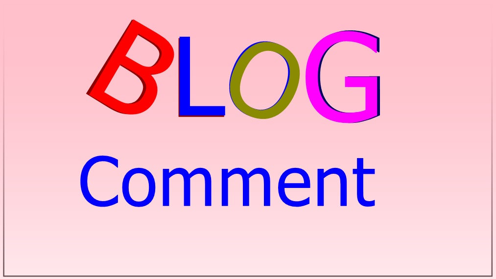 Offer 40 High quality blog comment