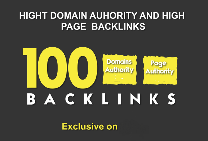 100 HPR Domain Authority SEO Backlinks For increase y...