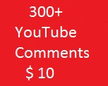 300+ Youttube custome commants Life Time Guaranteed 2024 Hours Super Fast delivery