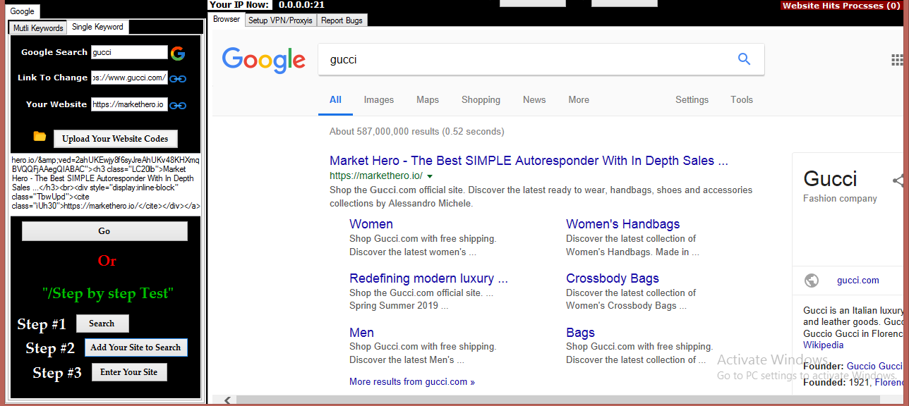 Get on the 1st Page of Google with - Google Search Ra...