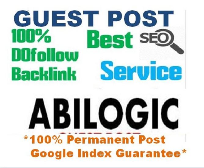 Dof0llow Guest Post On DR63 Site Abilogic. com