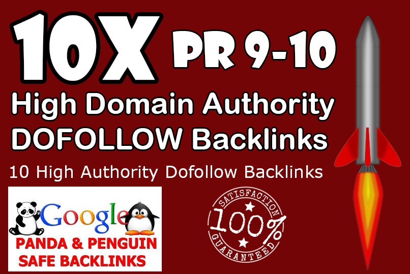50 Dofollow Backinks from High Authority sites Improv...