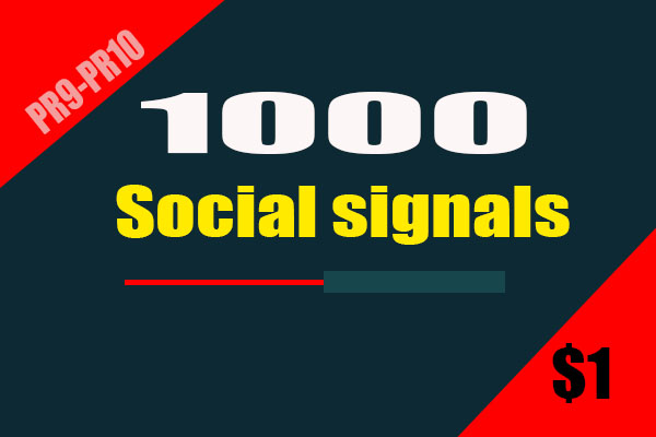 Manually 1000 Drip Feed SEO Social Signals HQ and Fast Speed