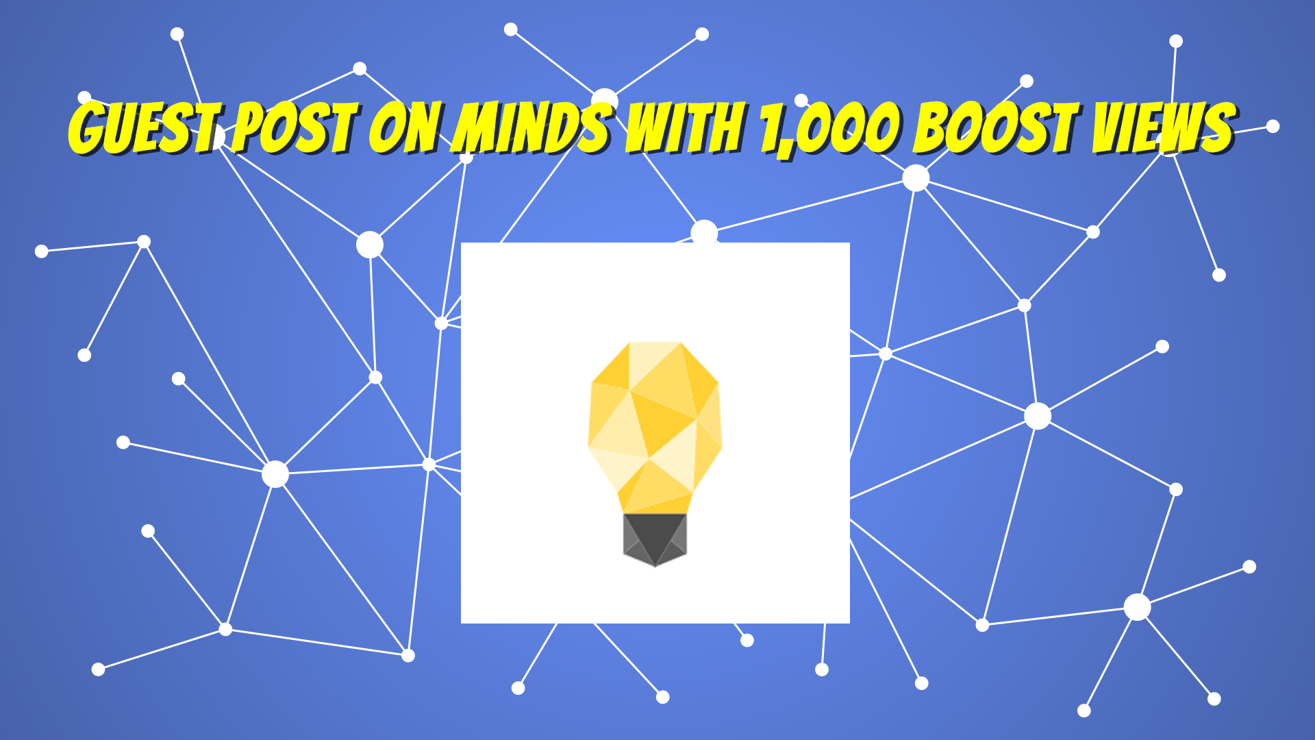 Publish and Write Guest Post on Minds DA87 With Boost...