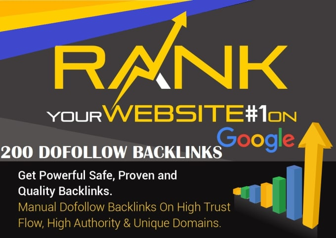 200 unique domain high quality backlinks improves SEO in 2018