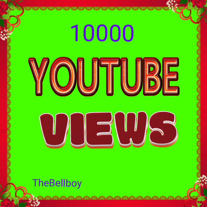 10000 High Quality Views Instant Start
