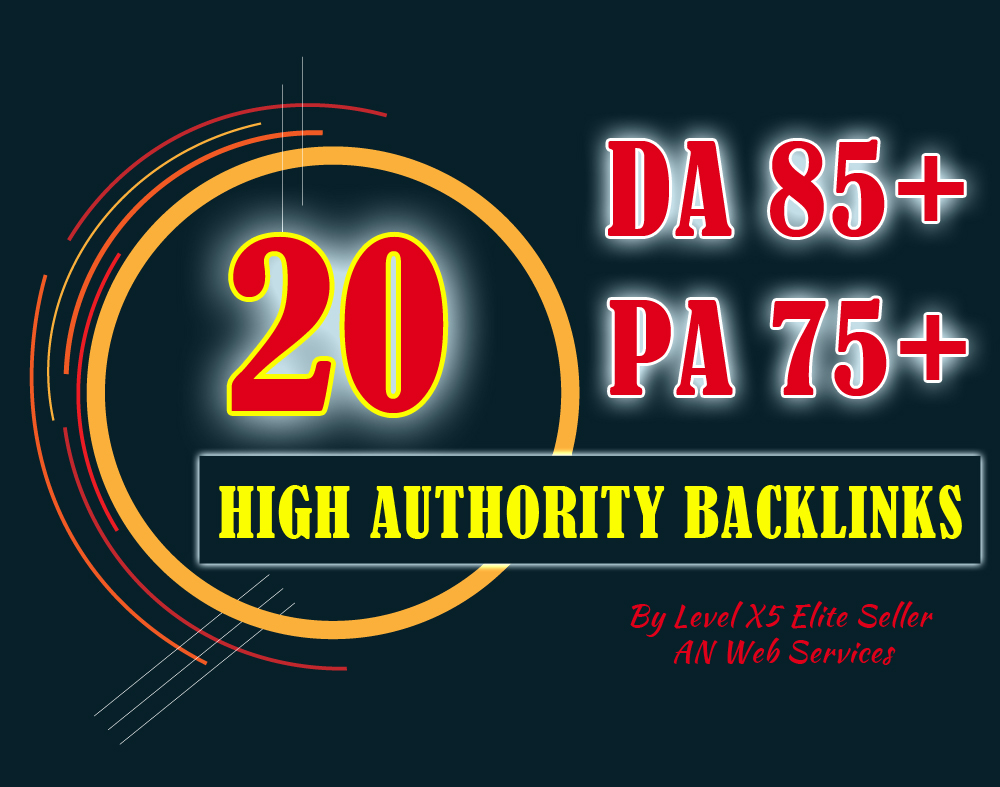 10 + 10 High Authority Backlinks PA65 Ultimate Domain Authority Booster