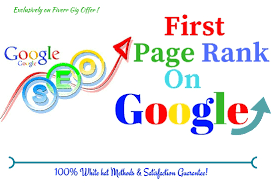 Top Rank Up Your Website On first Page With in 4 month