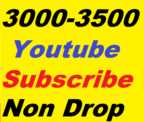 Limiteed offer 3000+ High Quality Non Drop  super fast Complete