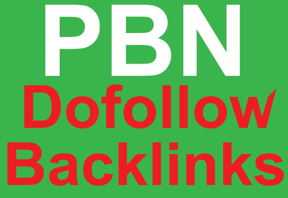 5 High Quality DA/PA TF/ CF manual PBN DOFOLLOW backl...
