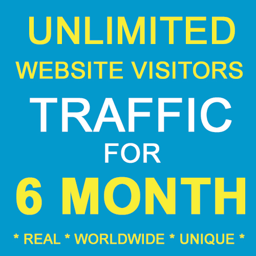 SIX Month Unique Traffics with ALEXA RANKING IMPROVEMENT