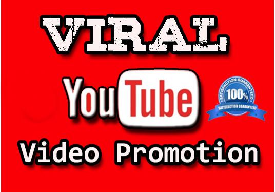 Organic Video Marketing Promotion Exlusive Service