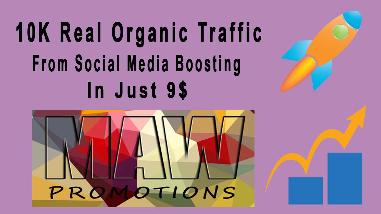 Real Organic 10k Traffic On Your site or blog with So...