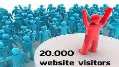 20000 real traffic to website to any link