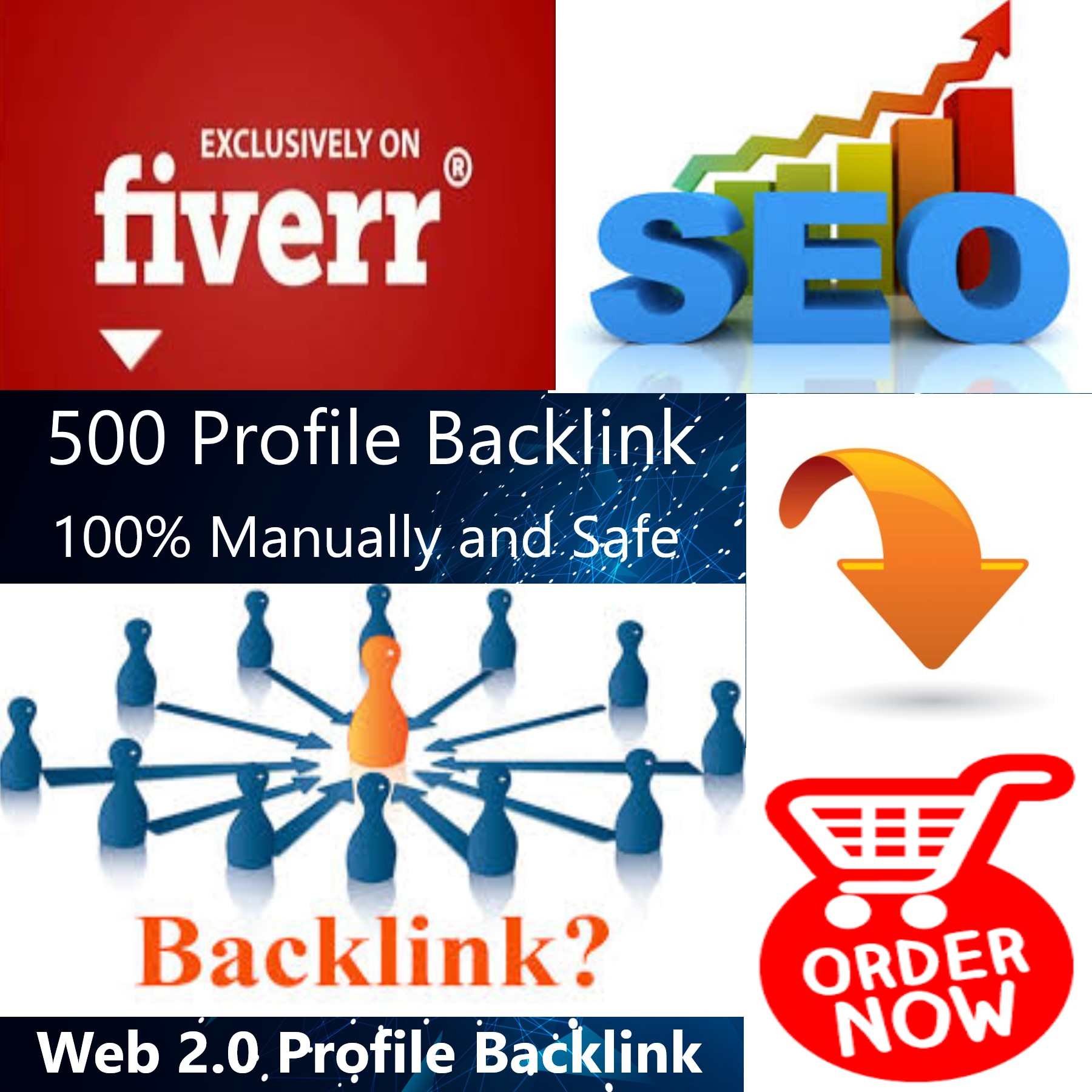 I will Create 500 Profile Backlinks
