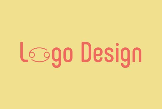 Professional text logo design