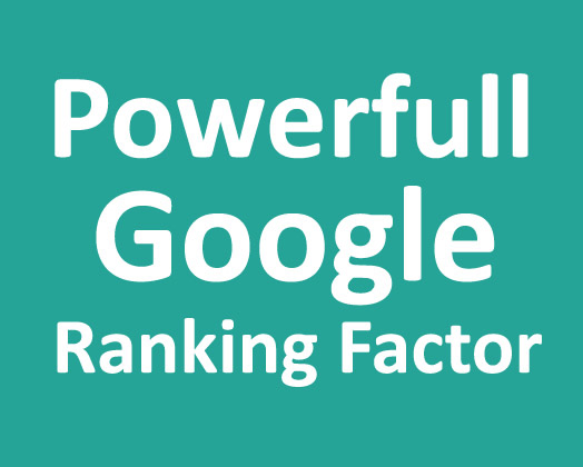 Powerful Backlinks for Google 1st page ranking