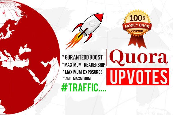 guaranteed rank BOOSTING Quora upvotes