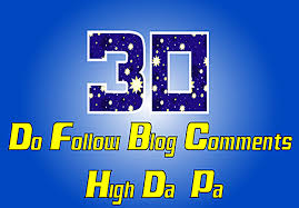 30 Dofollow Blog Comments On HiGH DA 30+