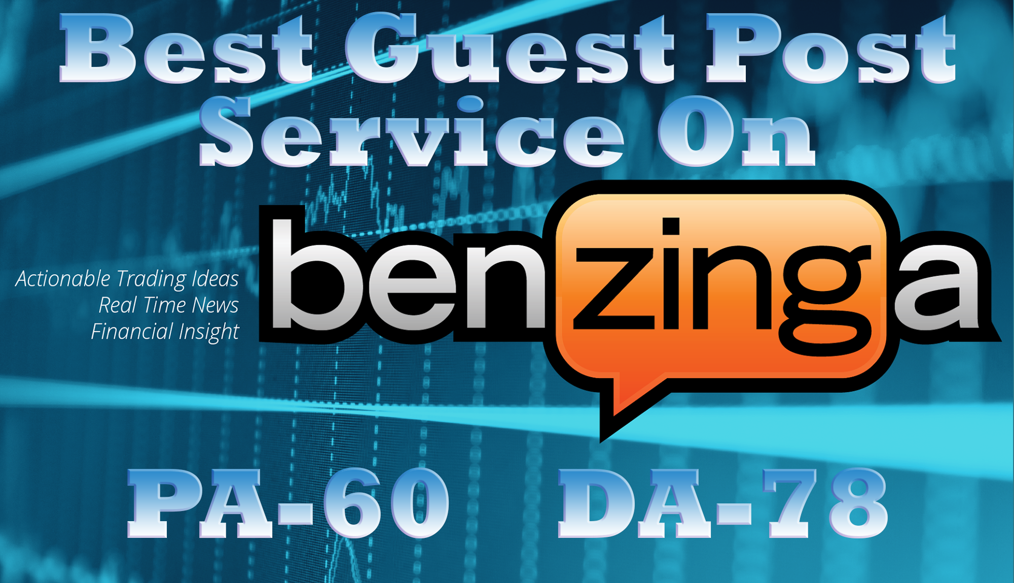Write and Publish a Guest Post on Benzinga having DA ...