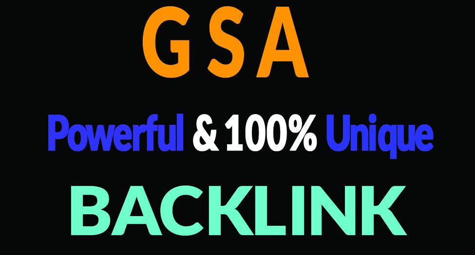 GSA SER SEO 800k Verified BACKLINK on google 1st page