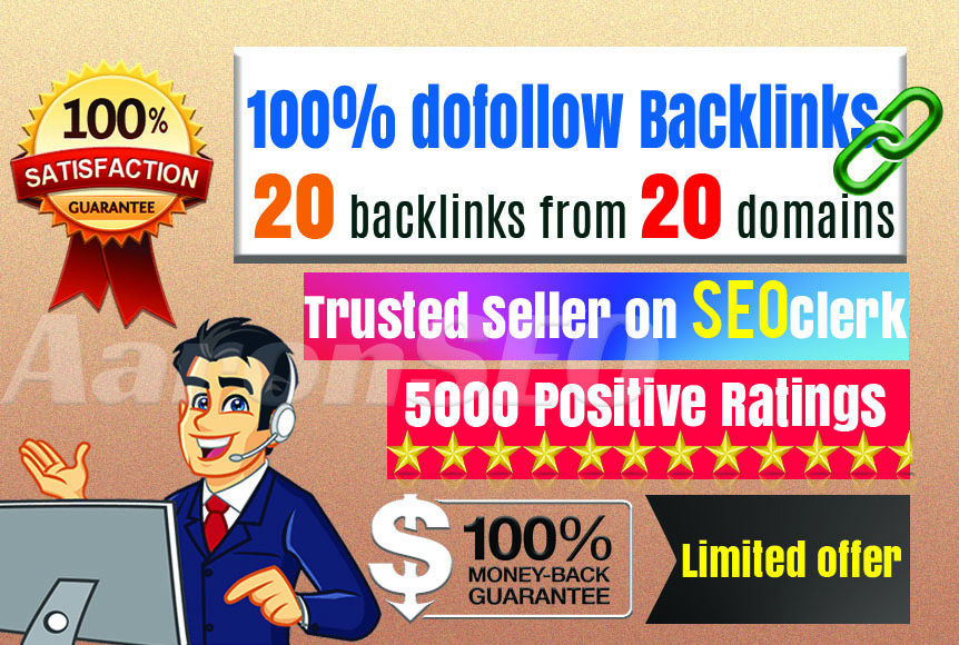DOFOLLOW SOCIAL BOOKMARK INSTANT APPROVE MONEY BACK GUARANTEE