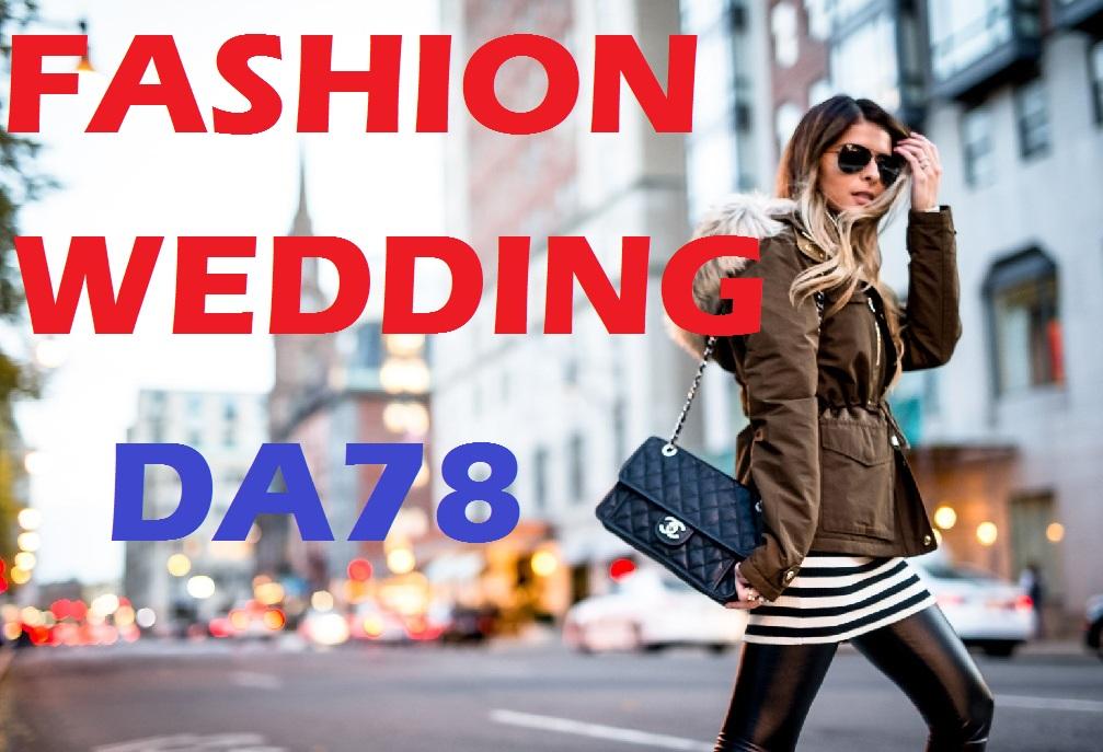 Premium guest post on my fashion,shopping,lifestyle,wedding DA78 Blog