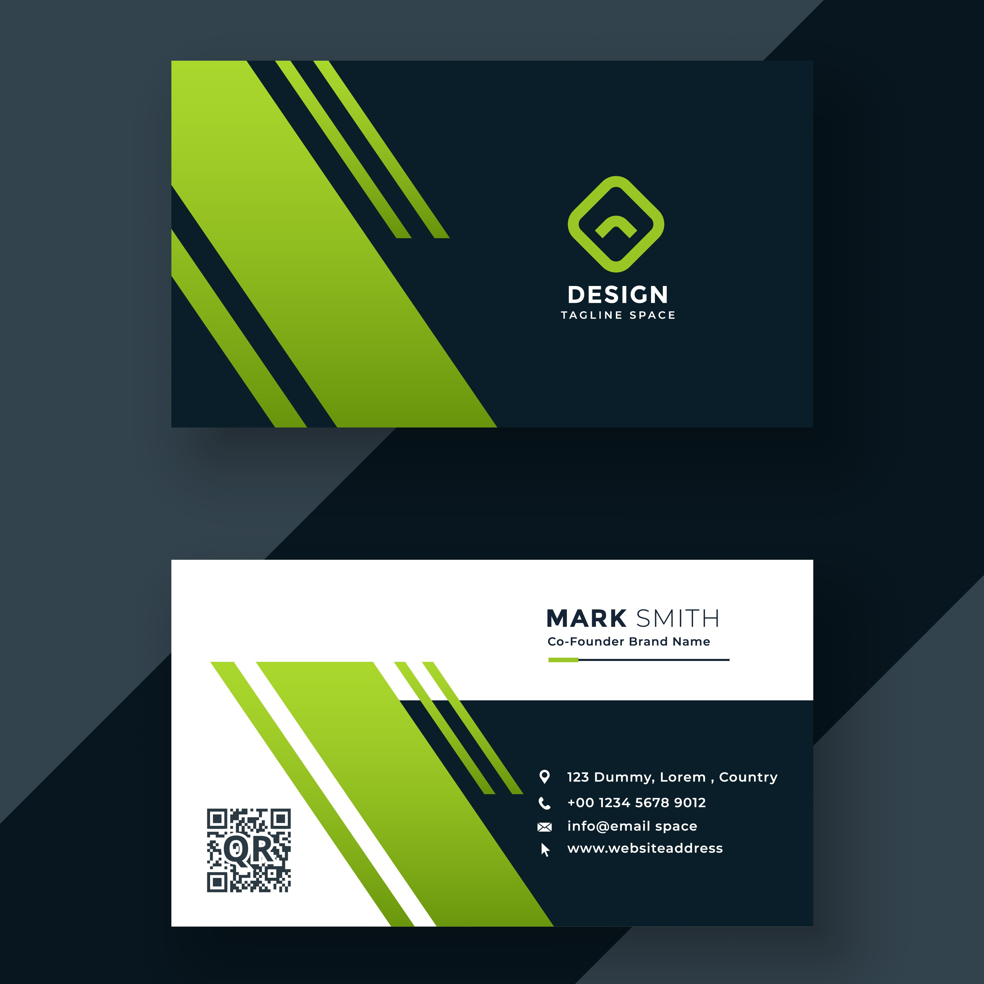 Provide You Professional Business card within 24 hour...